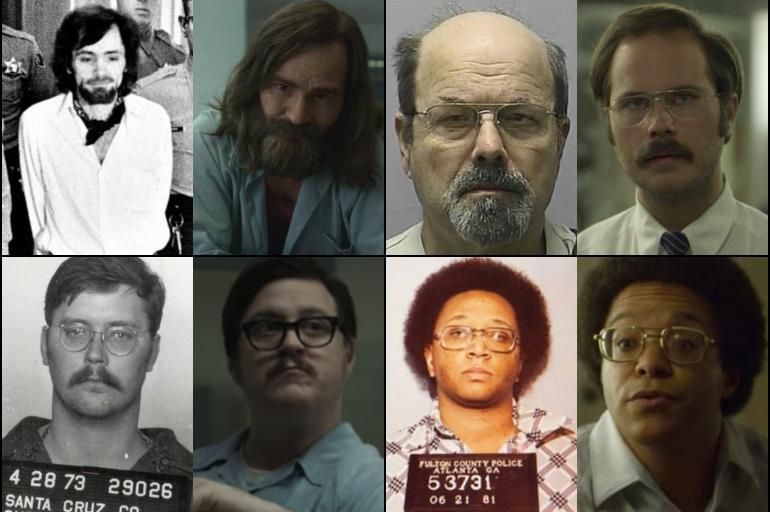 Increíble parecido de los verdaderos asesinos con los actores que ...