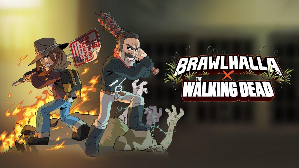 ¡Pelea en Brawlhalla! Negan y Maggie de The Walking Dead se unen para derrotar caminantes.
